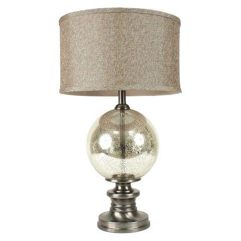 Nickel & Silver Mercury Glass Table Lamp - Target - $149.99
