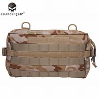 Emerson 32*18cm 500D Drop Utility Pouch Military Waist Molle Pack Weapons…