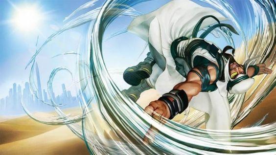 Street Fighter V - Rashid.