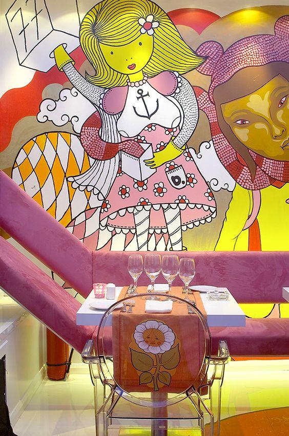 mezzo art cafe, athens: prv commissions