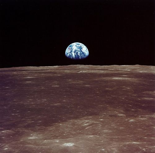 View from Apollo 11 07-1969