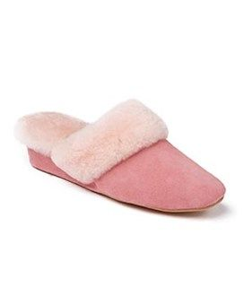 Ladies Sheepskin Slippers Moffat   #Shoes #Footwear #Autumn #Morlands #Slippers #Cosy #Sheepskin #Vintage #Style #Glastonbury #Warm