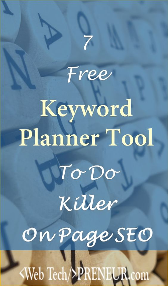 Free Keyword Planner Tool To Make Killer SEO #blogging #SEO #blog #wordpress #google