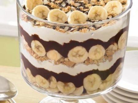 Chocolate & Banana Trifle Recipe