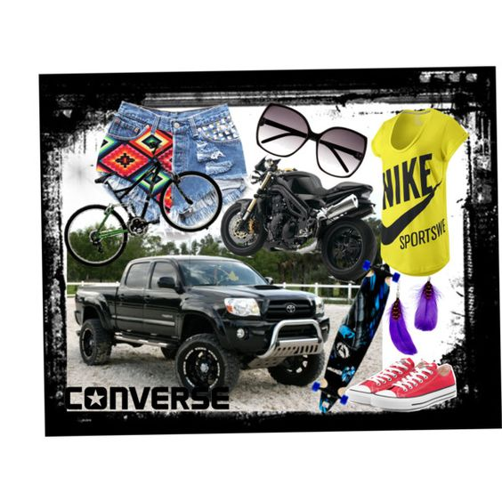 My Wheels, created by vanesavidal on Polyvore