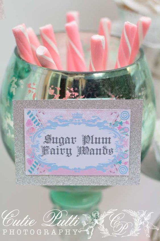 Sugar Plum Fairy Nutcracker Party  | CatchMyParty.com