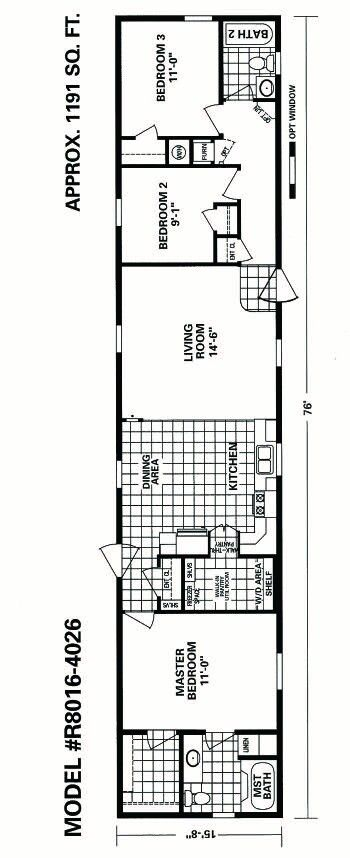 Schult in redwood falls mn now has a second single wide for 14 wide mobile home floor plans