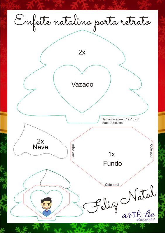 Aparador Imaginus Tabaco ~ Artesanato em Feltro, uma paix u00e3o sem limites Natal