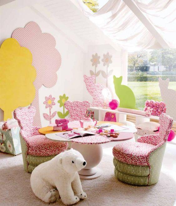 Spielbereich im Kinderzimmer #deko #dekoration #dekorationsidee #kinderzimmer