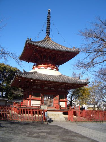 Kita-in Temple pagoda, Kawagoe - Kawagoe is an authentic Edo period town within easy reach of Tokyo