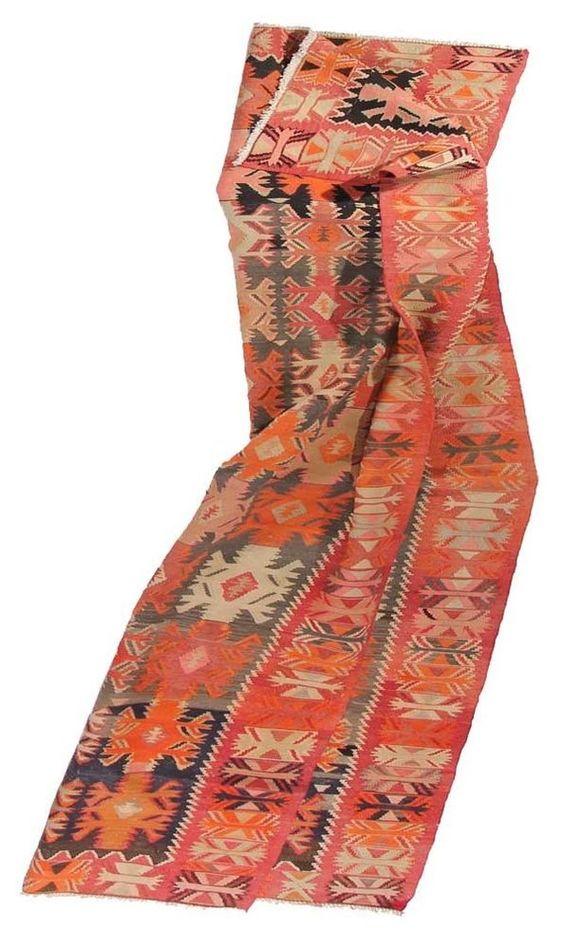 Perser KILIM  Teppich 397 x 13 cm KELIM Moderna alfombra oriental  orientteppich