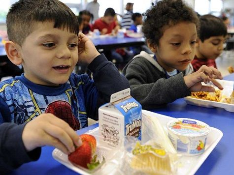 """In a breathless, Drudge Report-linked headline, the Washington Post reported last week that the """"Majority of U.S. public school students are in poverty."""" A Huffington Post piece by Rebecca Klein, published 12 minutes earlier, sported a similar headline, """"More Than Half Of American Schoolchildren Now Live In Poverty."""" The only problem with these headlines, and the stories beneath them, is that they aren't true—not even close."""