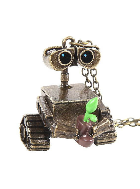 Disney WALL-E Character Necklace - Hot Topic: