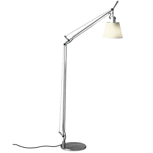Artemide Tolomeo Basculante Lettura Floor Lamp Parchment Diffuser Floor Lamp Floor Lamp Lighting Lamp