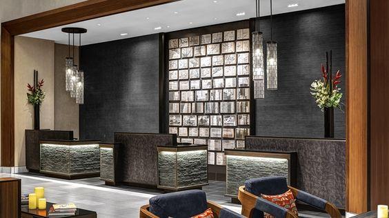 hotel front desk design chair - Buscar con Google