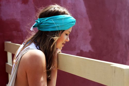 Head wraps...perfect for the beach