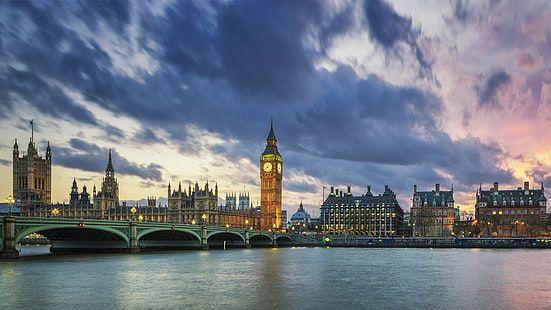Big Ben In London At Sunset Uk Landscape Photography 4k Ultra Hd