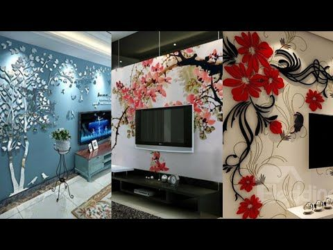 Gorgeous 3d Wall Stickers Design Ideas Youtube Wall Sticker Design 3d Wall Sticker Design