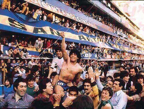 El rey de boca y del fútbol