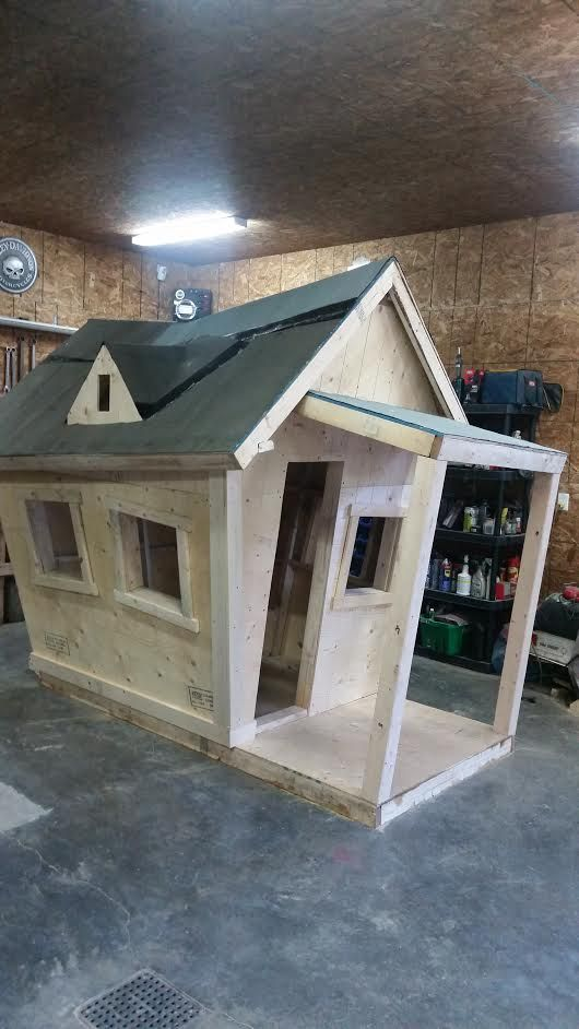 nearly finished playhouse