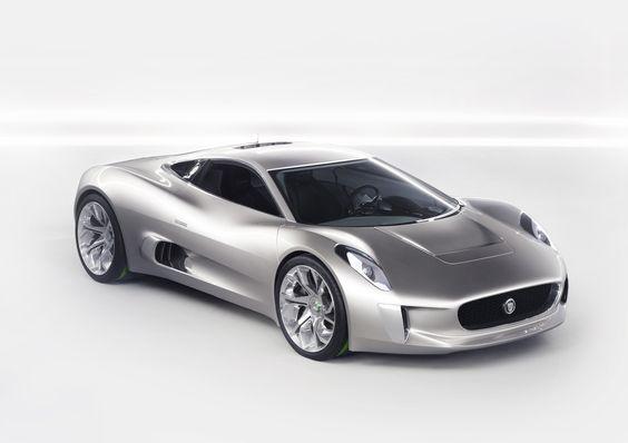Jaguar Turbine-Powered C-X75