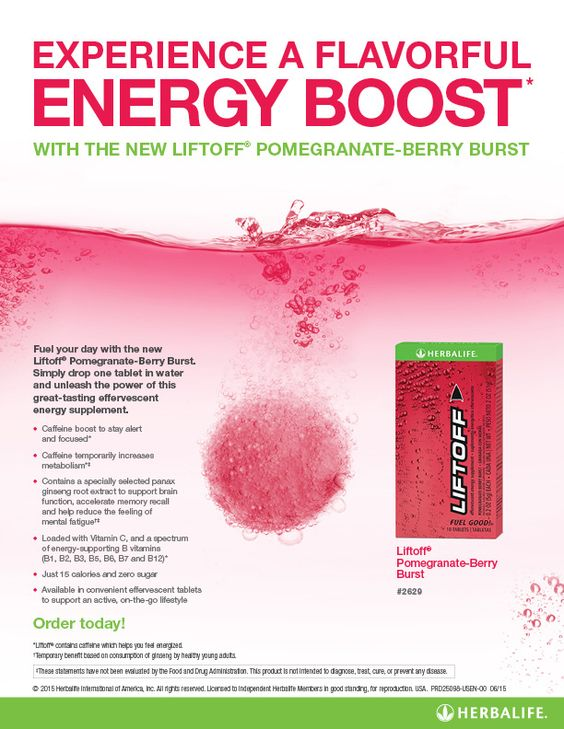 Herbalife pomegranate berry blast lift off!! Order yours today at https://www.goherbalife.com/coachalicia