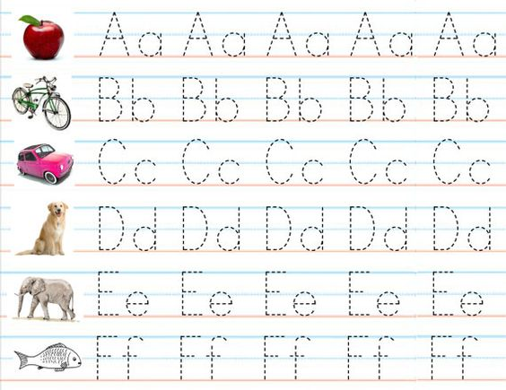 Set of 3 Laminated Alphabet & Number Sheets for Writing Practice ...