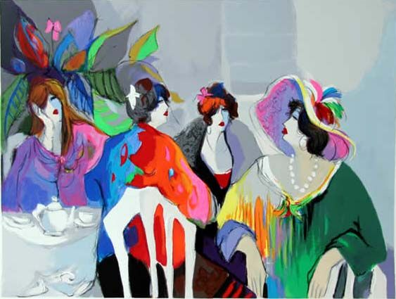 Isaac Maimon Paintings | maimon girl talk: