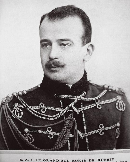 Grand-duc Boris de Russie (1877-1943) fils de la princesse Marie de Mecklembourg-Schwerin et de Vladimir Alexandrovitch de Russie