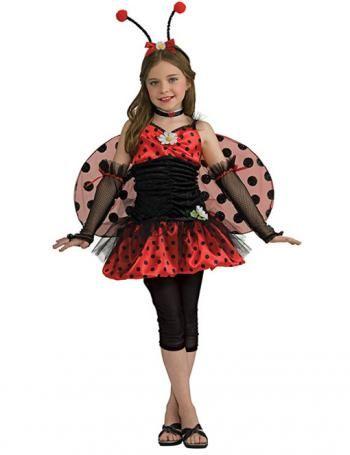 Mit dem Lady Bug Kostüm wird aus Dir schnell ein verträumter Käfer #kostum #costume