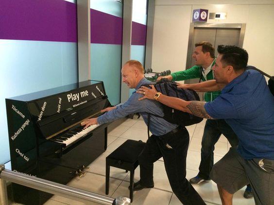 No Jon! NOOOO!! The Piano Guys