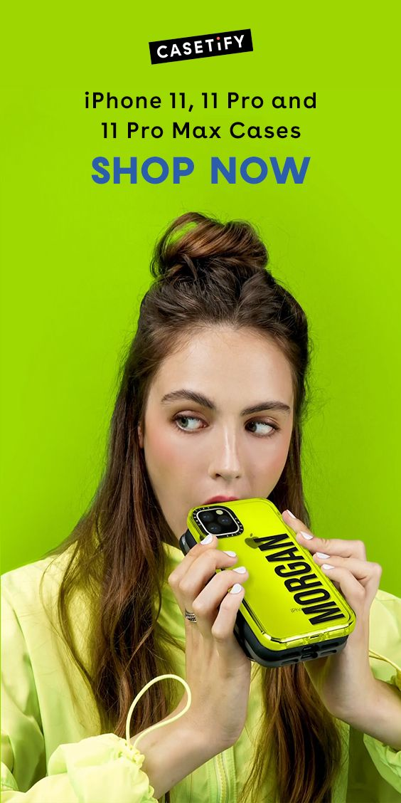 Impact Case For Iphone 11 Iphone 11 Pro Iphone 11 Pro Max Neon Yellow Iphone 11 Iphone Iphone Cases