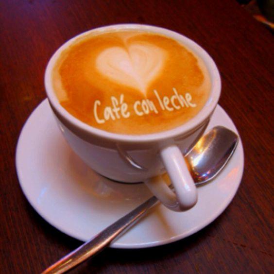 Resultado de imagen de café con leche