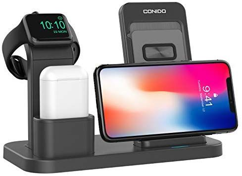 : Conido Wireless Charger Compatible iPhone, 3 in