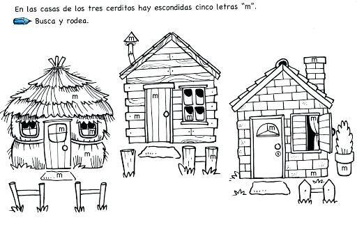 Casa De Los Tres Cerditos Para Colorear Cerdo Para Colorear Cerditos Los Tres Cerditos