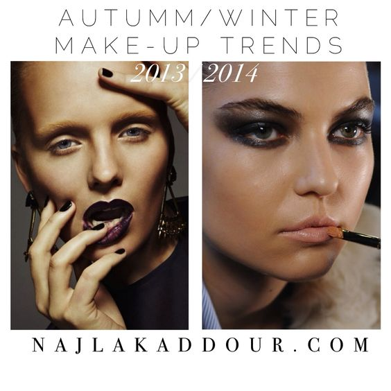 Autumm/Winter make-up trends 2013/2014