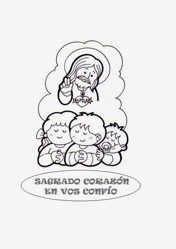 El Rincón de las Melli: Sagrado Corazón, en Vos confío (para los más chiqu...