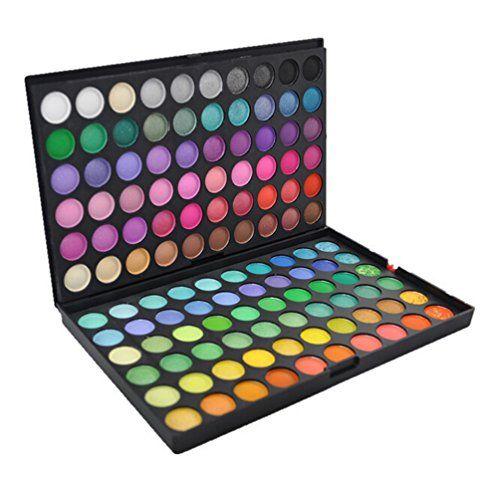 SUMERSHA Anti-cernes Cache-cernes Fards à Paupières Fondation Palette de Maquillage Cosmétiques Professionnel (120 couleurs)