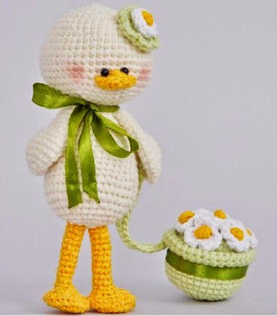 Kuklyandiya: maglia Giocattoli all'uncinetto. uccelli