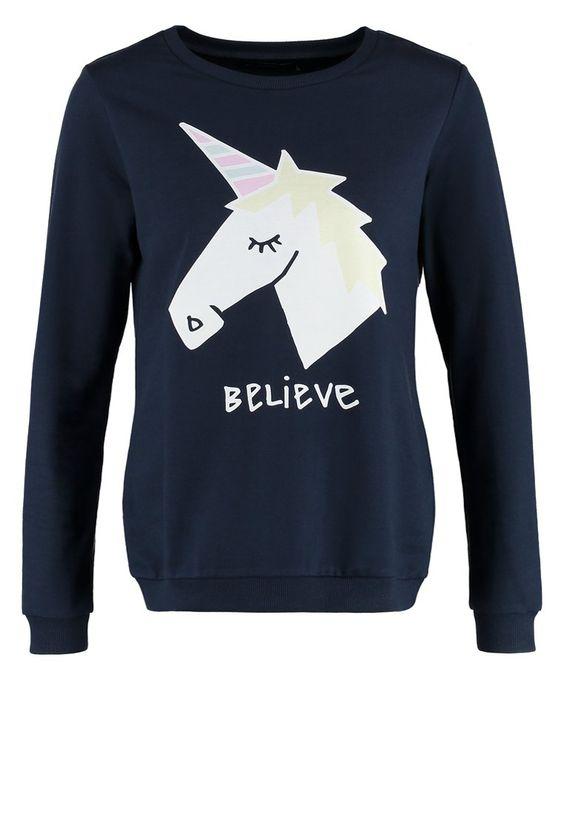 Even&Odd Sweatshirt - dark blue - Zalando.de