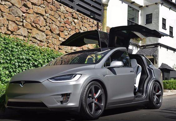 Tesla Model X Matte gray