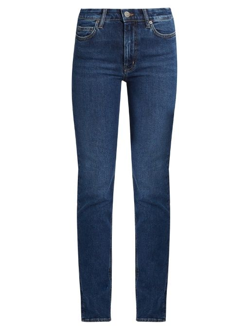 M.I.H JEANS Daily high-rise straight-leg jeans. #m.i.hjeans #cloth #jeans