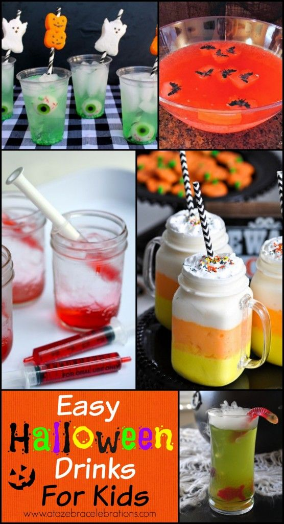 Tácia Rose (taciarose) on Pinterest - halloween drink ideas for kids