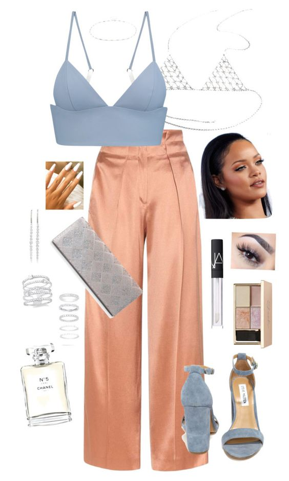 """""""Outfit"""" by angiebe1 on Polyvore featuring Accessorize, NARS Cosmetics, Edun, T By Alexander Wang, Steve Madden, Sasha, KC Designs, Chanel, Belk Silverworks and EF Collection"""