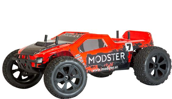 MODSTER Truggy Brushed EP 4WD 1:10 2.4 GHz RTR MODSTER Elektro RC-Cars