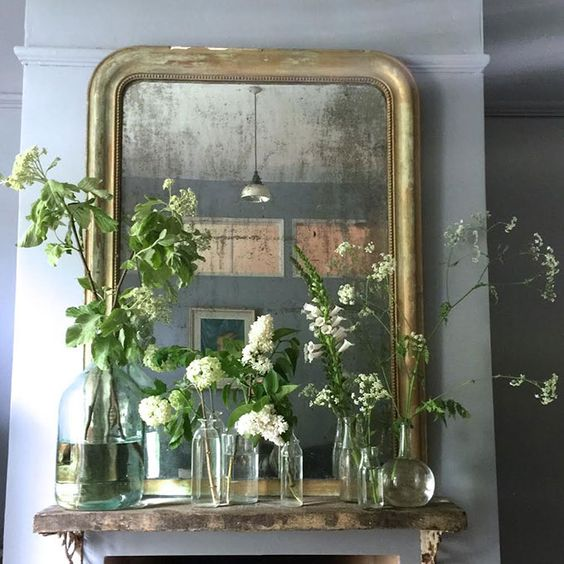 How To Style Flowers On A Mantlepiece - Minford by Twig Hutchinson