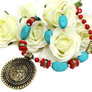 Exquisite Neckpiece Gifts for Sister on Bhai dooj
