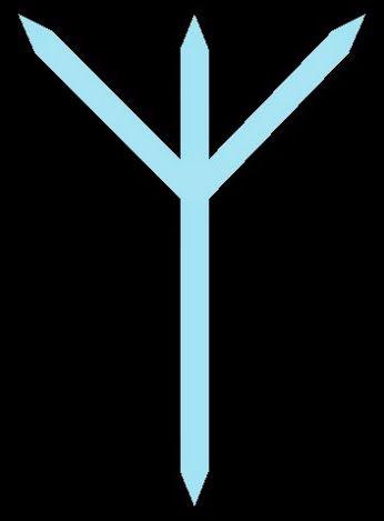 # Runa Algiz  Palabra clave: protección AIgiz viene de la palabra antigua alhs, que significa templo o santuario; por lo tanto, sus cualidades son de defensa y protección, ya que repele el peligro. Es la protección del escudo de las valquirias, que se consideran --> http://astrologiatarotghyslaynej.blogspot.mx