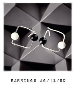 BAUHAUS collection Earrings AG1260 by Carlos Martín jewelry to Art Eurythmia