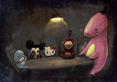 freakshow: Disney Movies Characters, Doom Operation, Kenjha S Deviantart, Quick2004 Deviantart, Twisted Cartoons, Deviantart Favourites